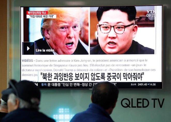 Vendredi 25 mai à Séoul. © Reuters