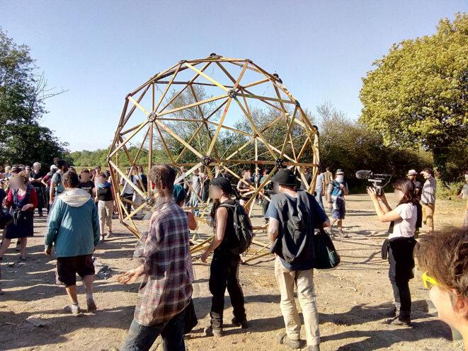 Arrivée des Domes 5° reconstruction. © Pierre A.