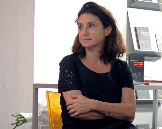 Virginie Linhart, le 24 mai 2018. © Gilles Walusinski