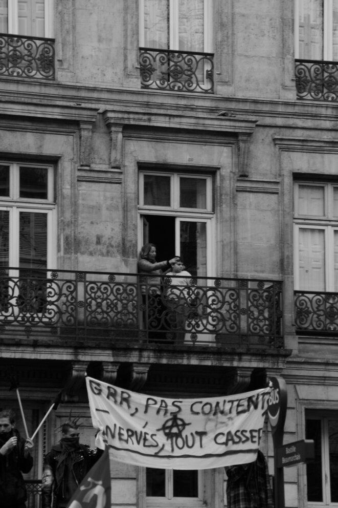 Leçon de militantisme, 22 mars © Esther Michon