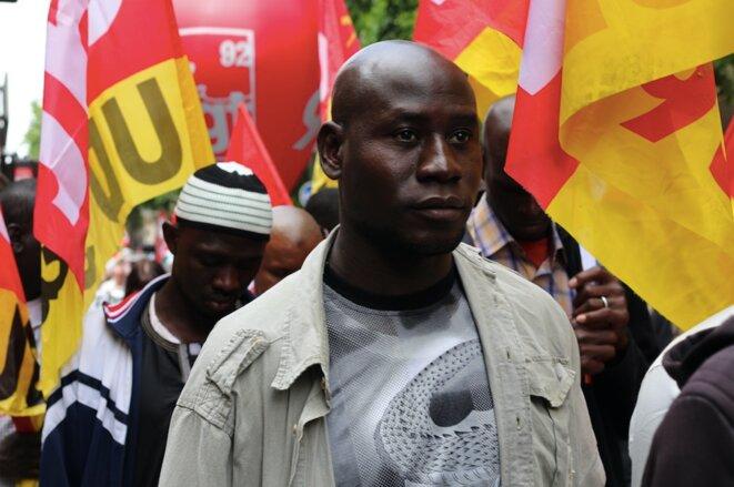 Les militants CGT, de l'union départementale du 92, en Île-de-France. © MG