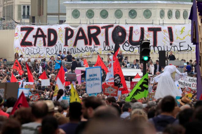 Place de la Bastille. © Reuters