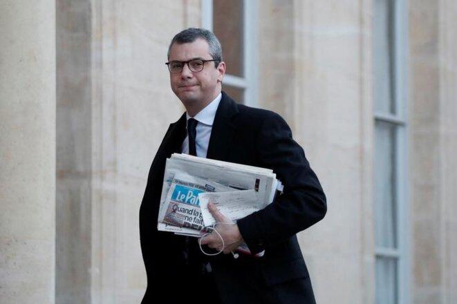 Alexis Kohler arrive à l'Élysée, le 3 janvier 2018. © Reuters