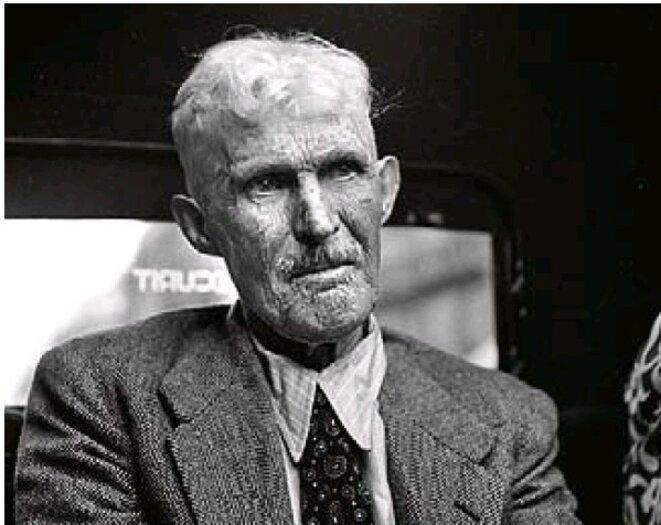 Guillaume Seznec à Paris le 17 juillet 1947.