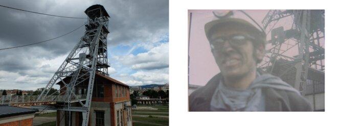 Puits Couriau à Saint-Etienne, dans lequel je descends avec un délégué CGT à la sécurité en juin 1969 [Ph. YF et DR]