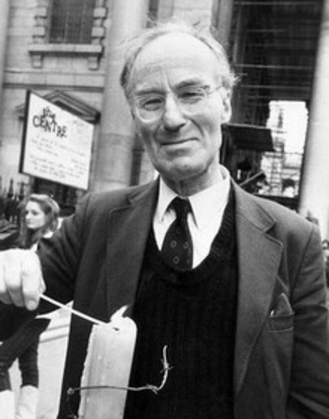 Peter Benenson en 1991 à Londres © Amnesty International
