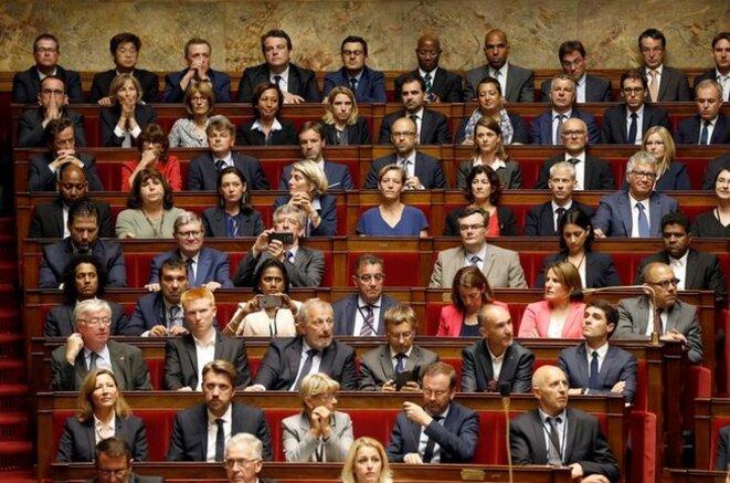 L'Assemblée nationale, après 2017. © Reuters