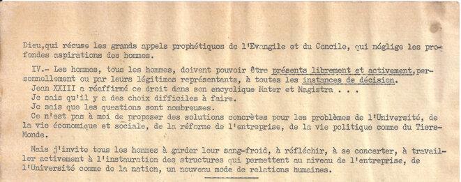Extraits de l'homélie de l' archevêque de Paris, commentant les événements à Notre-Dame le jour de l'Ascension, jeudi 23 mai © François Marty, archevêque de Paris