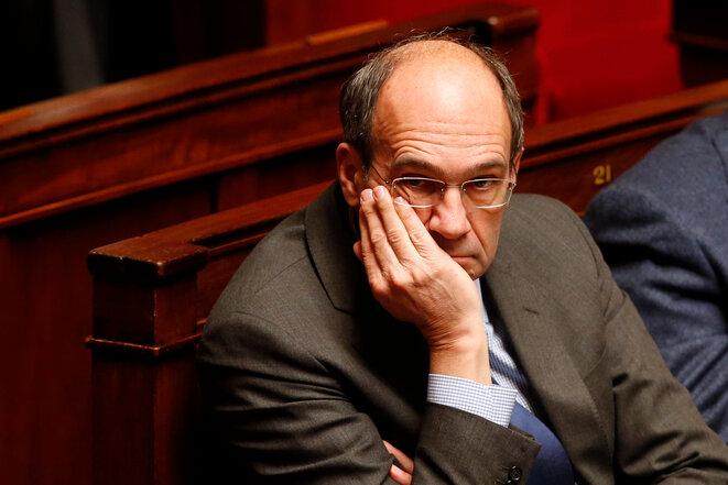 Éric Woerth, el 4 de febrero de 2014, en la Asamblea Nacional. © Reuters