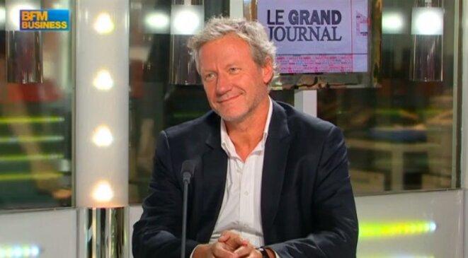 Yannick Pons, fondateur de Vivastreet, invité sur BFM-TV. © DR