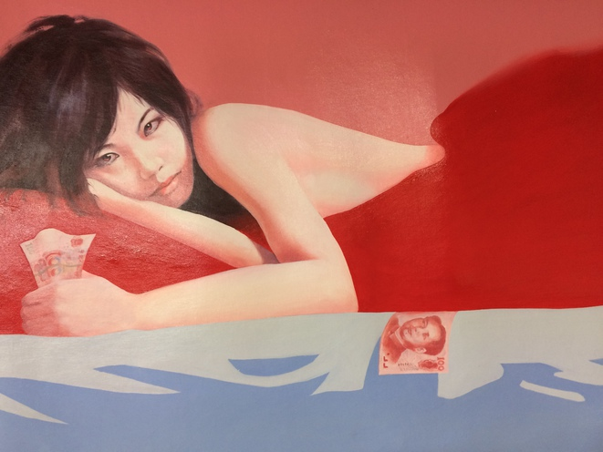 Dans l'atelier de Sun Mu : réfugiée nord coréenne se prostituant en Chine