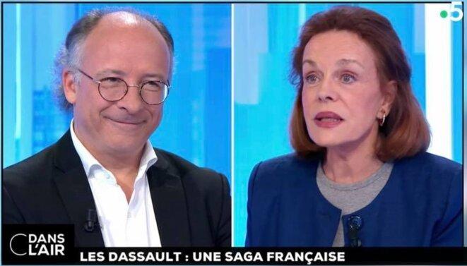 Yves Thréard et Catherine Nay [capture d'écran France 5, YF]
