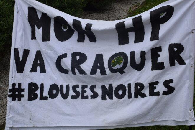 Banderole de la lutte du Rouvray © Jean-Pierre Levaray