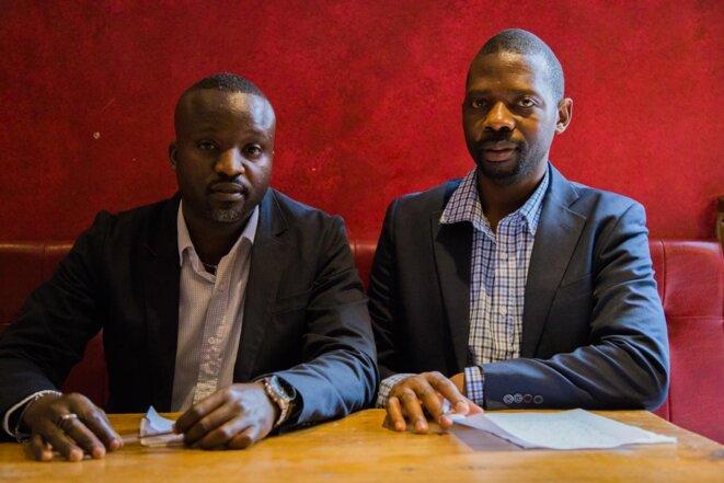 Thierry Inono et Mpayimana Philippe à Paris le 02/06/2018 © Christine Pannétier