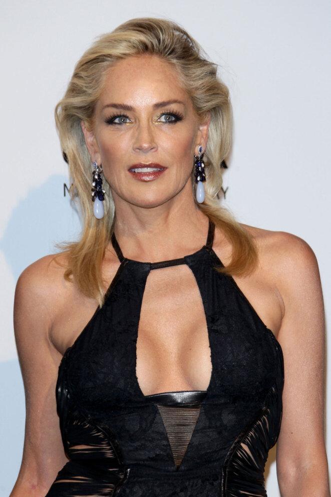 Sharon STONE (en marge d'un festival de Cannes)