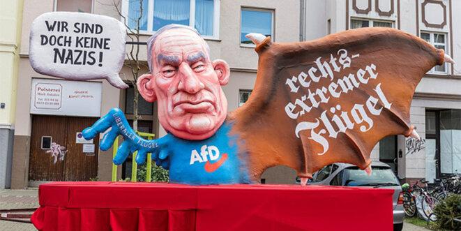 L'extrême-droite allemande est écoeurante. © @infozentrale / Wikimedia Commons / CC0 1.0