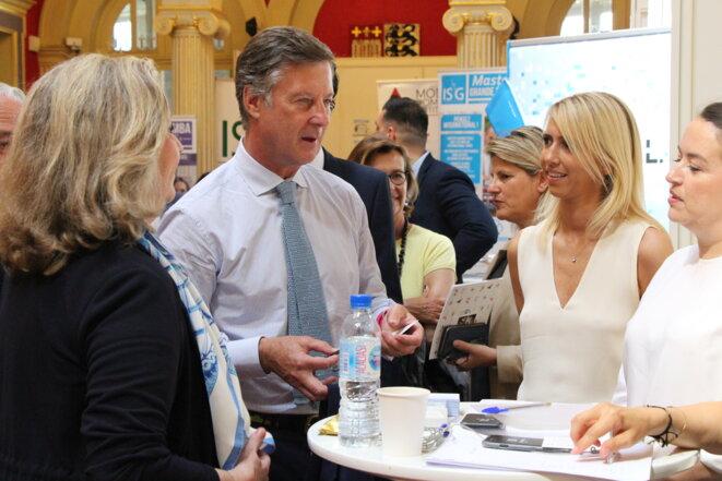 Danièle Giazzi, Sébastien Bazin, Thierry Martin et Michèle Assouline © Michèle Assouline
