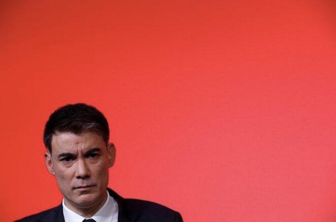 Olivier Faure, le 30 mars 2018. © Reuters