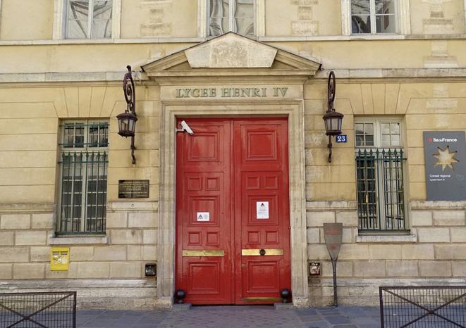 Lycée Henri-IV. © DR
