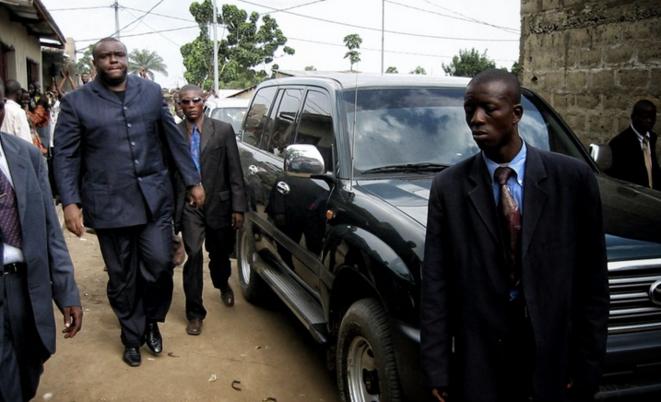 Jean-Pierre Bemba en campagne électorale en 2006 © Ch. Rigaud - Afrikarabia