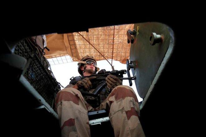 Soldat français au Mali, octobre 2017. © Reuters