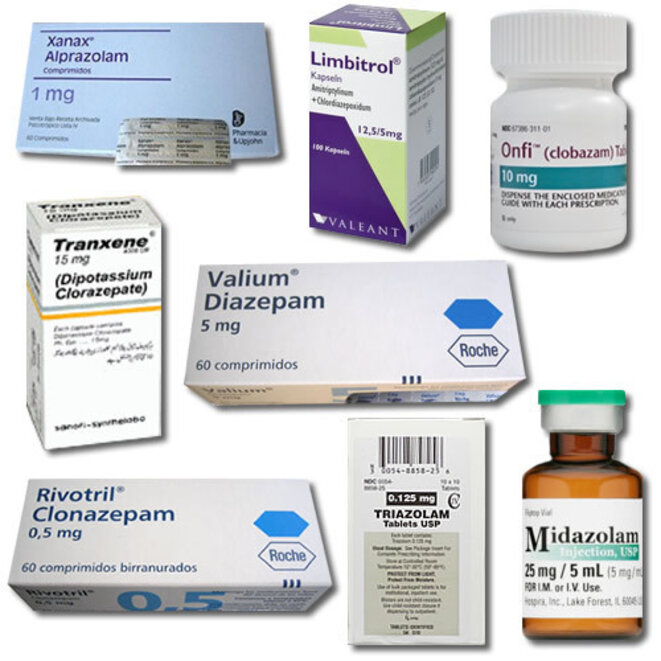 Benzodiazepines drugs