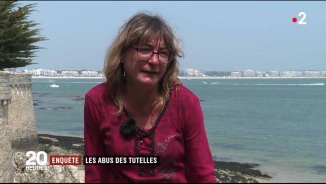 X sur France 2 [capture d'écran]