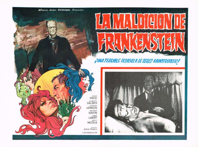 """""""Les Expériences érotiques de Frankenstein"""" de Jess Franco © Artus Films"""