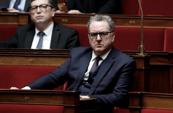 Richard Ferrand à l'Assemblée nationale, le 13 décembre 2017. © Reuters/Benoit Tessier