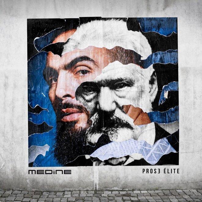 Pochette de l'album Prose Elite (Médine/Din Records)