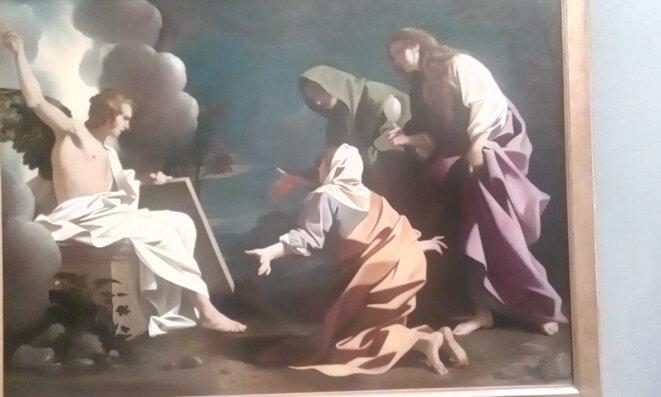 Les Maries au Sépulcre