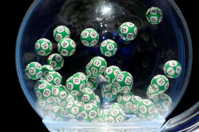 Un tirage du loto de la FDJ. © Reuters