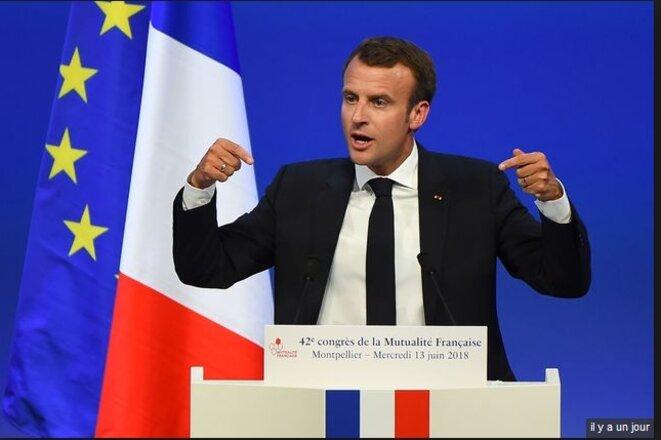 Le Président de la République au Congrès de la Mutualité française, le 13 juin à Montpellier
