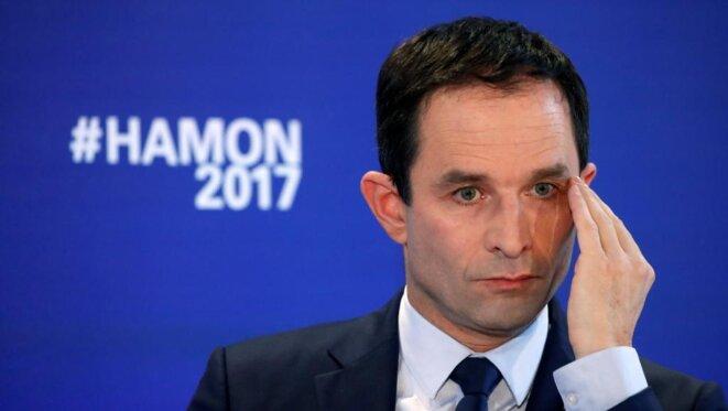 La campagne de Benoît Hamon a été marquée par la désorganisation et la division. © Reuters