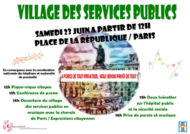 Village des services publics © Convergence SP