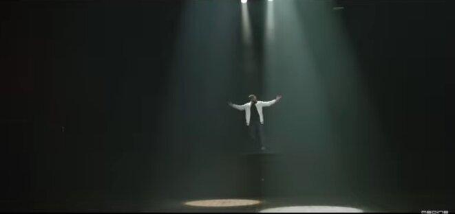 Image extraite du clip de la chanson « Bataclan ».