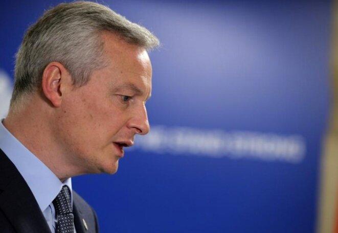 Bruno Le Maire est en charge de la loi Pacte © Reuters
