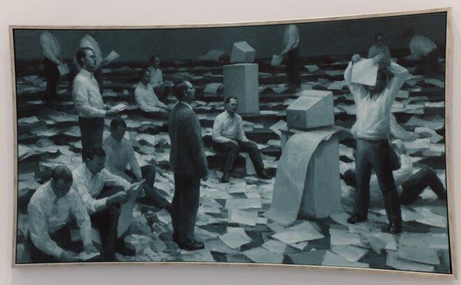 The Consequence, par Peter Martensen, Musée d'Art Moderne et Contemporain de Saint-Etienne Métropole [Photo YF]