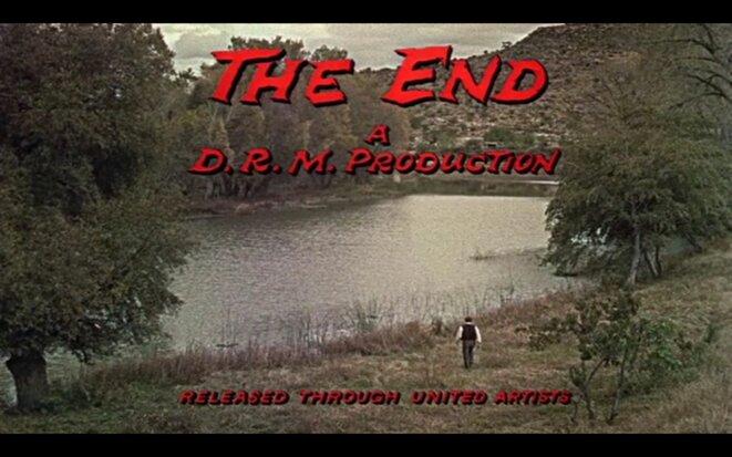 Générique de fin de The Wonderful Country de Robert Parish (1959)