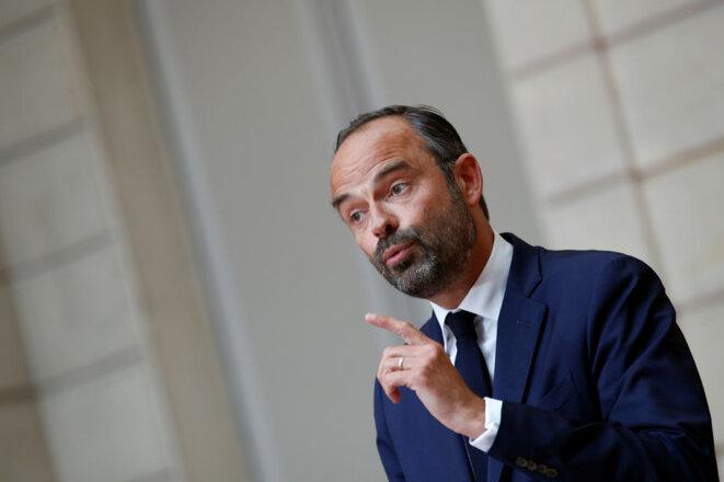 Le premier ministre Édouard Philippe. © Reuters