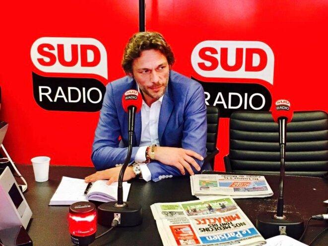 """Thierry Paul Valette, invité de l'émission """"seul contre tous"""" à Sud Radio"""
