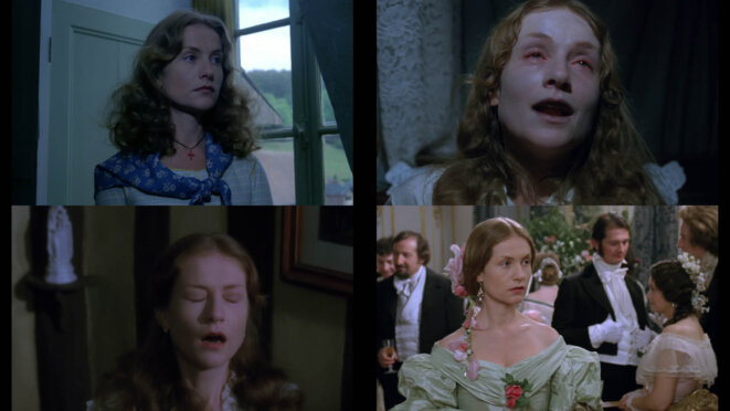 "Isabelle Huppert quatre fois, dans ""Madame Bovary"" (1991) de Claude Chabrol"