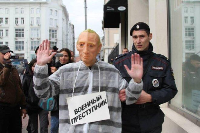 Denis Bakholdin, 2014 à Moscou © Grani.ru