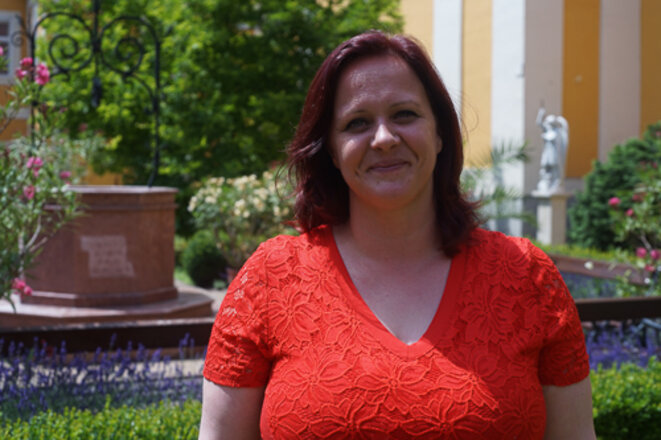 Katalin Németh, maire de Csorna. © Amélie Poinssot