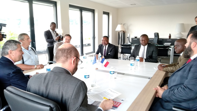 L ambassade du gabon en mission d exploration conomique - Chambre de commerce et d industrie lyon ...