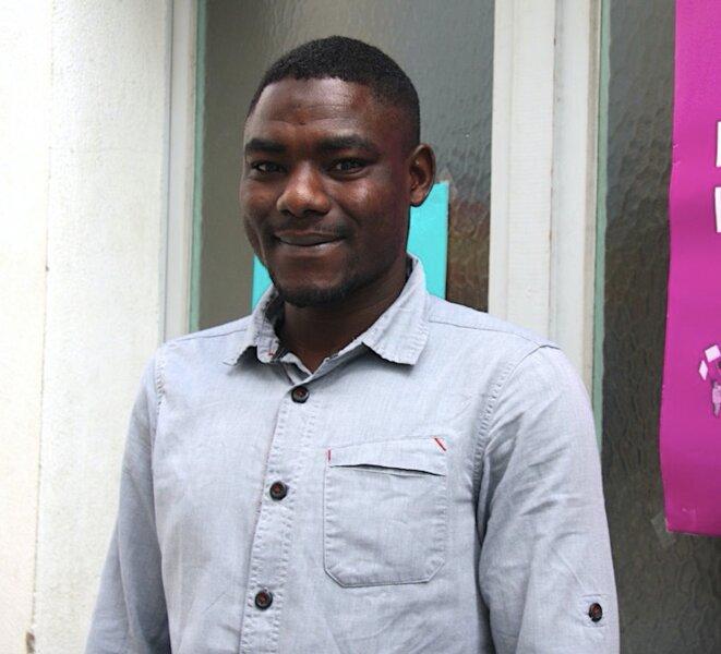 Moussa Jomoaa, né en 1992 à Tandi, dans la région du Darfour (Soudan). © MM