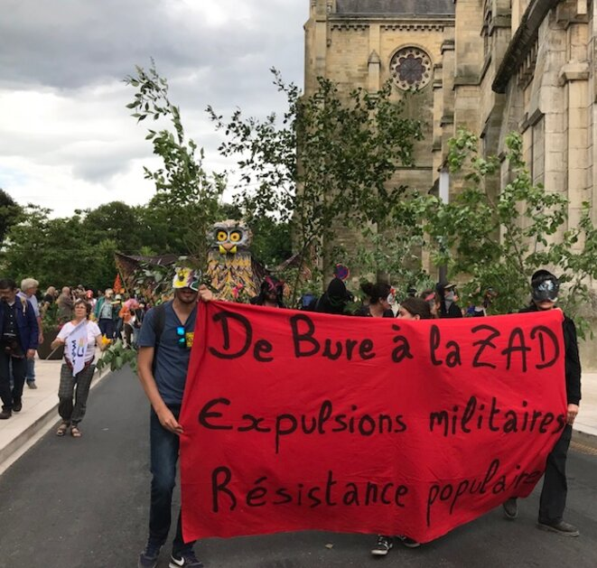 Manifestation anti-Cigéo à Bar-le-Duc, 16 juin 2018 (JL).