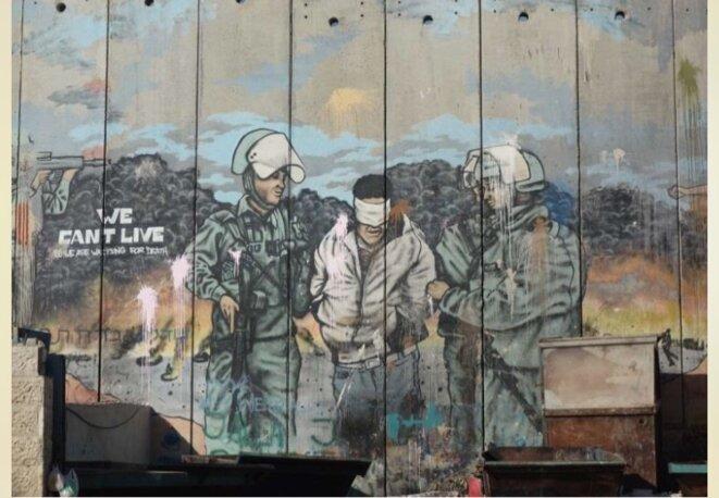 LA GRANDE MARCHE DU RETOUR ANNIE FLORE © E'M.C. Palestine