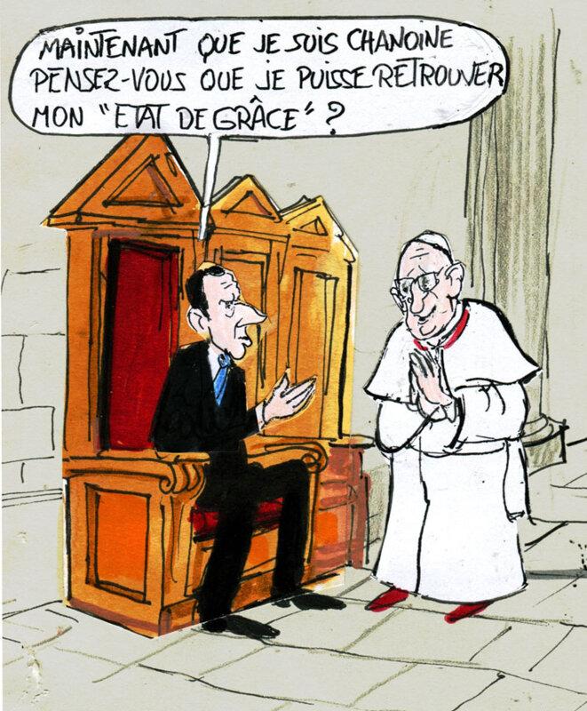 Pape François © Calvi