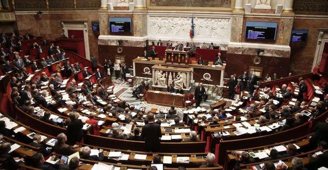 La Asamblea Nacional francesa. © Reuters